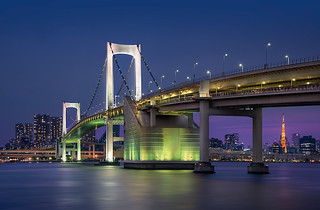 The Rainbow Bridge - (Tokyo, Japan)