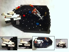 MSP-01 Assault Shuttle (Jeroen_K) Tags: world stars real lego space contest shuttle spacestation planets rockets sattelite moc starfighter msp01