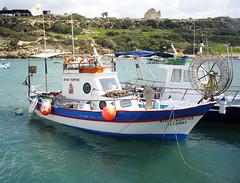 Cape Drepano Boats (tnoskoguy) Tags: ocean sea boat photo fishing harbour cyprus quay buoys paphos buoyant pegia