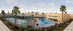 Panorama 2 (Samir Al-Haj) Tags: panorama canon buildings wide panoramic riyadh   wimmingpool canon7d    samiralhaj