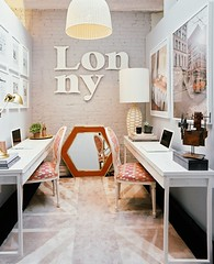 How to create a shared home office ? (Muriel Alvarez) Tags: wood vintage desk sharing homeoffice homedecor decocrush