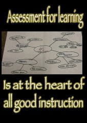 "Educational Postcard:  ""The heart of teaching is AfL"""