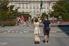 Plaza de Oriente (malinowy) Tags: madrid summer spain nikon d70 weekend espana nikkor espagne spanien spanje 1870 madryt hiszpania malinowy malinowynet