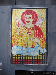 Tom (derekb) Tags: streetart ny newyork tomselleck