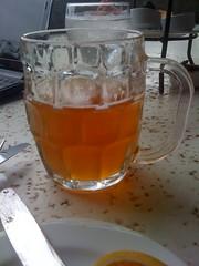 Half-full Honey Beer