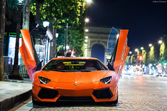Lamborghini Aventador (Valkarth) Tags: summer orange paris france love car night canon eos noche eau europe dubai dof ultimate mark uae dream champs pluie voiture exotic arab ii coche lp saudi arabia l mk2 5d kuwait usm arabian q 700 qt lamborghini nuit groupe 70200 arancio f28 supercar mk spotting reve ete 2012 doha qatar mkii watter markii argos ultime ksa 70200mm lambo mark2 elyse qtr arabie 7004 saoudite aventador lp700 lp7004
