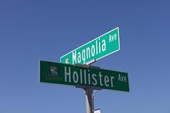 Goleta Street Name Sign
