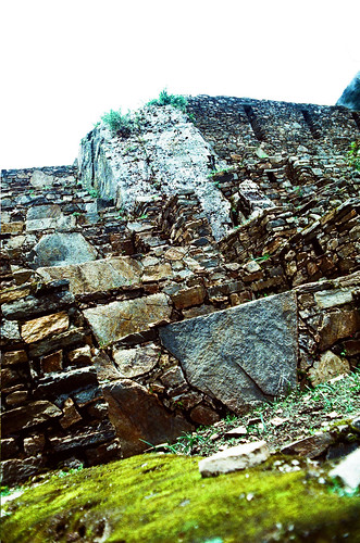 Choquequirao, upper part