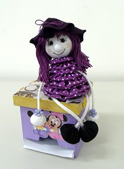 Bonequinha Fuxico Sortidas (Darte Produtos Artesanais) Tags: pano fuxico boneca tecido