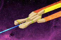 Stellar Tribute (pasukaru76) Tags: lego space tribute moc canon100mm microscale vicviper nnenn