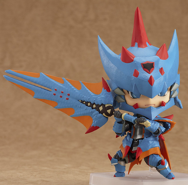 魔物獵人Nendoroid Monster Hunter 男獵人海龍