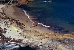 Fuji Astia 100, home processed (Simon Hampton) Tags: ocean sea summer film beach analog 35mm bay sydney australia slide e6 colorslide fujiastia100 homedeveloped colorpositive simonhampton leicam3nsw