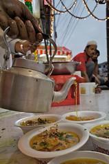 Oil Topping on haleem (Rajesh_India) Tags: india festival celebrations hyderabad ramadan ramzan haleem