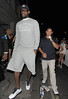 .LeBron James Members of the U.S.A olympic basketball team enjoy a night out at Funky Buddha nightclub in Mayfair. The group arrived in a convoy of taxis at 2.30am...just 30 minutes before the club closes. Their security team escorted them inside the club, but forgot to pay one of the taxi drivers the �£35 fare