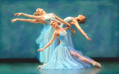 Ballet (zubillaga61) Tags: ballet painterly retouch corelpainter retoque