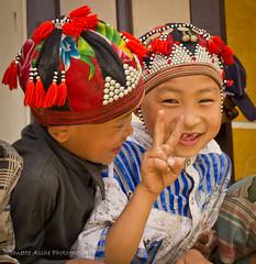 Big smile (NettyA) Tags: travel school boys hat canon children asia village vietnam preschool colourful southeast sapa blackhmong reddao earthasia eos550d bankhoang