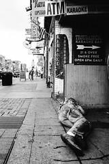 R0024487.jpg (G. L. Brown) Tags: bar broadway drunk man passedout sidewalk