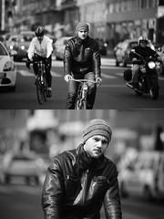[La Mia Citt][Pedala] (Urca) Tags: milano italia 2016 bicicletta pedalare ciclista ritrattostradale portrait dittico bike bicycle nikondigitale mir biancoenero blackandwhite bn bw 872171