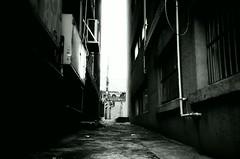 Alley (Shoji Kawabata. a.k.a. strange_ojisan) Tags: lca lomography eary gray 100 35mm film filmphoto filmphotography analog analgophoto analogphotography lomo lomogrpahy street streetphoto streetphotography korea seoul asia east eastasia city cityscape cityscapes black white blackandwhite bnw mono monochrome