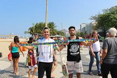 #EuAbraço a #Prevenção em #Copacabana