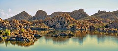 GRANITE DELLS (Irene2727) Tags: granitedells lakewatson prescott arizona nature rocks reflections water landscape scape waterscape