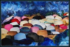 Cappelli di paglia - Agosto-2016 (agostinodascoli) Tags: cappelli nikon nikkor cianciana sicilia art digitalart digitalpainting photopainting photoshop agostinodascoli colore fullcolor