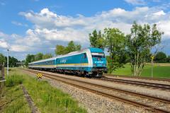 ALEX - HERGATZ (Giovanni Grasso 71) Tags: alex er20 br223 hergatz siemens locomotiva kbs970 allgu allgubahn bodensee lindau kempten immenstadt