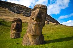 rapa nui 213 17 19  0881 (moments caught in flight) Tags: rapanui easterisland moai ranoraraku quarry