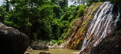Waterfall, Koh Samui, Thailand (wymi_90) Tags: landscape nature waterfall kohsamui thailand natur landschaft wasser olympus raw panorama