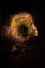 Le bout du tunnel (Maurice Von Mosel) Tags: mine myne mynes tunnel vosges le thillot cuivre granit trou galerie