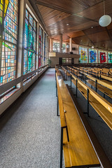 INTERIOR SHOTS OF SAINT PATRICKS CHURCH [FOR MY SECOND SESSION I HAD SOME FUN USING A 15mm LENS]-119928 (infomatique) Tags: galway interior church saintpatricks voigtlnder15mm ultrawideangle lens williammurphy sony a7rm2 ireland infomatique zozimuz fotonique
