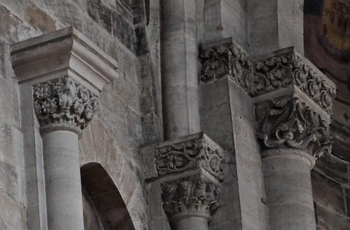 Bamberg (Alemania). Catedral. Coro este. Capiteles