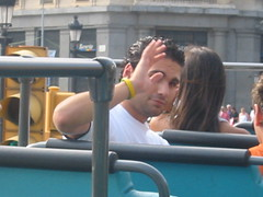 BARCELONA - SEPT 2006 (CovBoy2007) Tags: barcelona spain spainish gaybarcelona gay chico man men male boy guy lad hunk sexy hot homme handsome sonofadam jock lemale wave waving espania