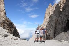 Sassolungo, Dolomiti (Giorgio Pongiluppi) Tags: alpi dolomiti sassolungo alps estate