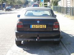Volkswagen Golf 3 cabrio 1997 nr2183 (a.k.a. Ardy) Tags: softtop 63tdsz