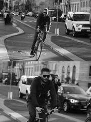 [La Mia Citt][Pedala] (Urca) Tags: milano italia 2016 bicicletta pedalare ciclista ritrattostradale portrait dittico nikondigitale mir bike bicycle biancoenero blackandwhite bn bw bnbw 881134