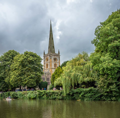 Stratford Upon Avon (85 of 113).jpg (360 Gigapix) Tags: churchbyriver riverscene churchinthewoods clocktower spier church stratforduponavon