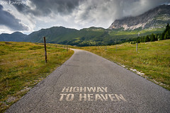 Highway to heaven (Uros P.hotography) Tags: awesome amazing beautiful breathtaking color excellent fantastic hiking incredible nice perfect stunning superb trip adventure unique view unforgettable extraordinary exceptional brilliant glorious striking aweinspiring stupendous urosphotography moody shadows travel tourism memorable remarkable tour journey light time passing sony a7ii mm 1635 fullframe nature sunset sky cloud italy italia alps mountain waterfall road path lake water lago predil fusine supperiore jofdimontasio montasio valbruna riofreddo valle sella tar somdogna saisera fontanone goriuda highway heaven