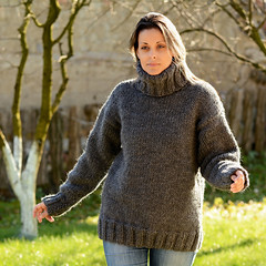 Big turtleneck wool sweater (Mytwist) Tags: extravagantza hand knitted wool non mohair sweater gray thick turtleneck fetish sweatergirl lady girl woman woolfetish handgestrickt cabled craft fisherman fashion knitwear retro closet wolle winter woolen women weekend wollen weekendsweater traditional textured timeless passion pulli thich handknitted handcraft heavy heritage handknit