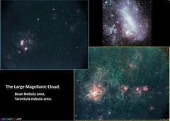 LMC TARANTULA and BEAN (AstroSocSA) Tags: nebula galaxy lmc supernovaremnant