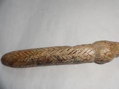 Mezin Paleolithic Spindle with Swastika Markings (CultureWise) Tags: swastika paleolithic archaeology ukraine history