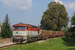751118 Nedozary-Brezany (Gridboy56) Tags: zsskcargo zssk slovakia bardotky grumpy 751 751118 prievidza railways railroad railfreight europe diesel train trains locomotive locomotives