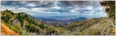 Bear mountain exodus frame (hopeliesinproles) Tags: big bear mountain california lake tree hills dslr canon beauty handheld panorama hdr vista