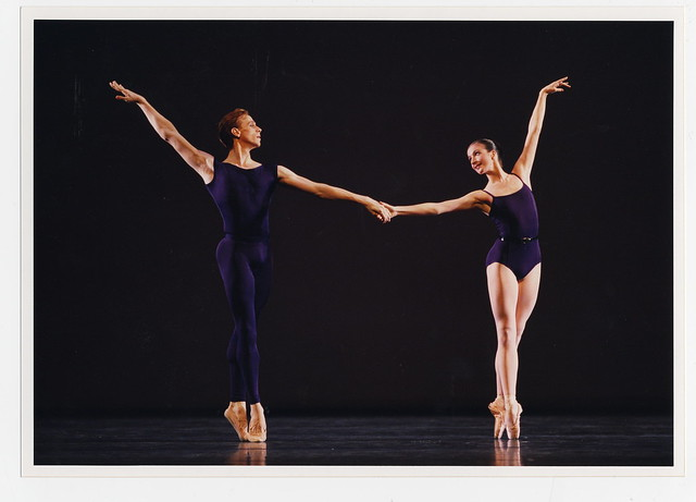 Edward Watson and Lauren Cuthbertson in Polyphonia © Bill Cooper/ROH 2012