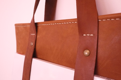 cindy kuo | Leather Tote Bag