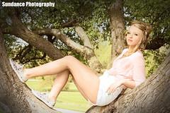 Melanie (sundance.photography) Tags: railroad pink girls portrait tree floral hair photography spring chair tracks adrian tecumseh hiddenlakegardens adrianmichigan tecumsehmichigan sundancephotography