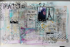 never in Paris (scrapmanufaktur) Tags: art journal