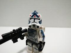 Lego Star Wars Custom Arc Trooper Fives (Lego Motion) Tags: star lego wars custom clone ark minifigure fives