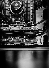 Guts (TLWPhoto) Tags: computer corsair ram watercooling videocards