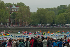 Flags of the Commonwealth (part 2) (SHSnaps) Tags: uk britain jubilee commonwealth royalty queenelizabeth thequeen flotilla diamondjubilee